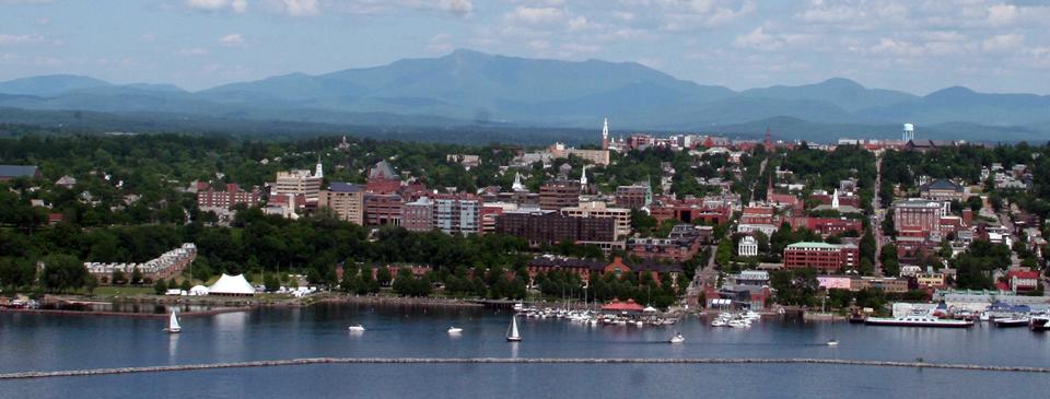 Burlington Vermont scenic