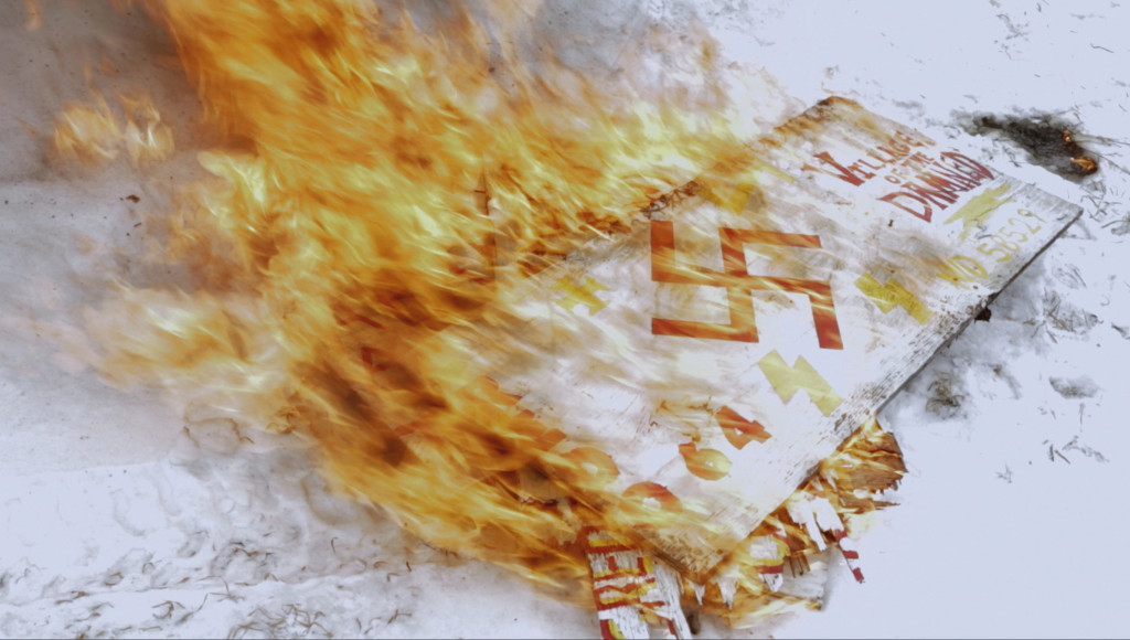 burningswastika